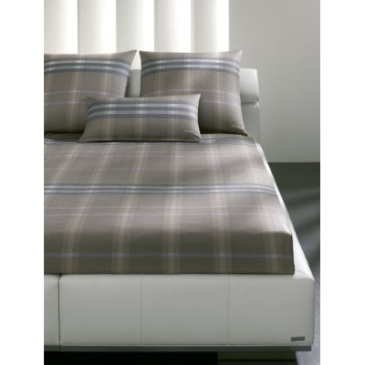 joop mako satin bettw sche 135x200 tartan layers 4038 7 ebay. Black Bedroom Furniture Sets. Home Design Ideas
