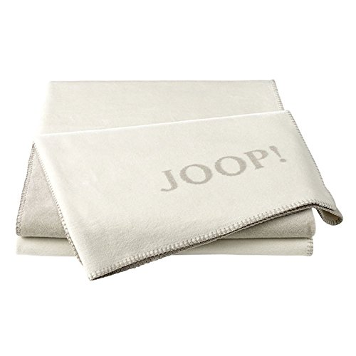 JOOP! Uni-Doubleface Wohndecke Decke Ecru-Feder 693426
