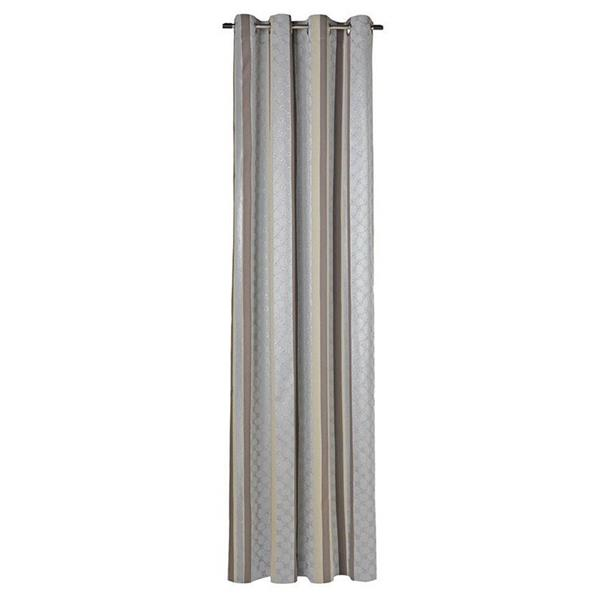 JOOP! Fertig-Vorhang Lucents mit Ösen 140x250 cm 70159 010 Grau