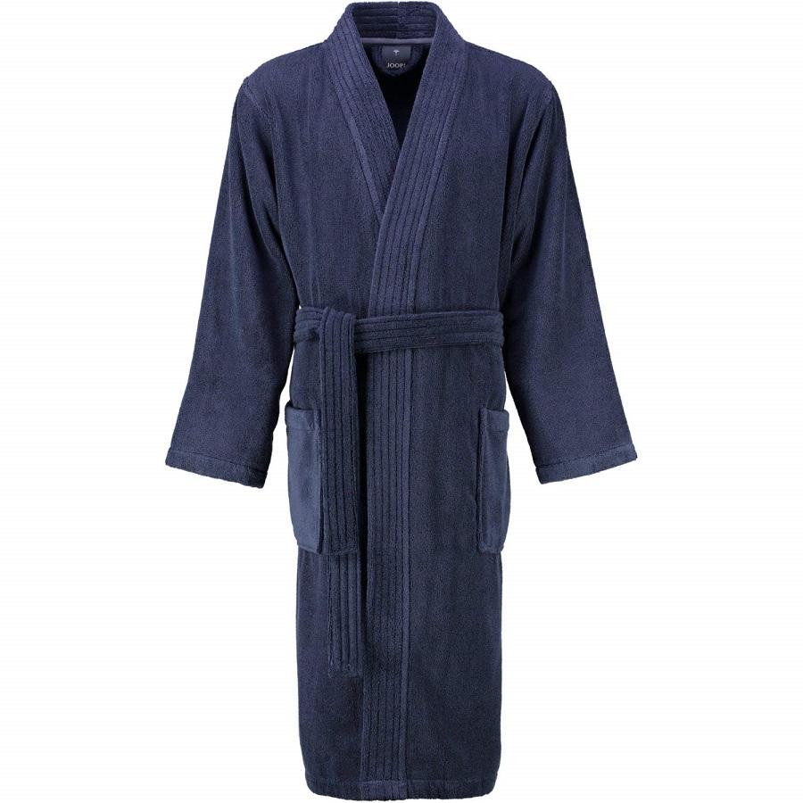 JOOP! Bademantel Herren 1647-175 Kimono extraflauschig Baumwolle