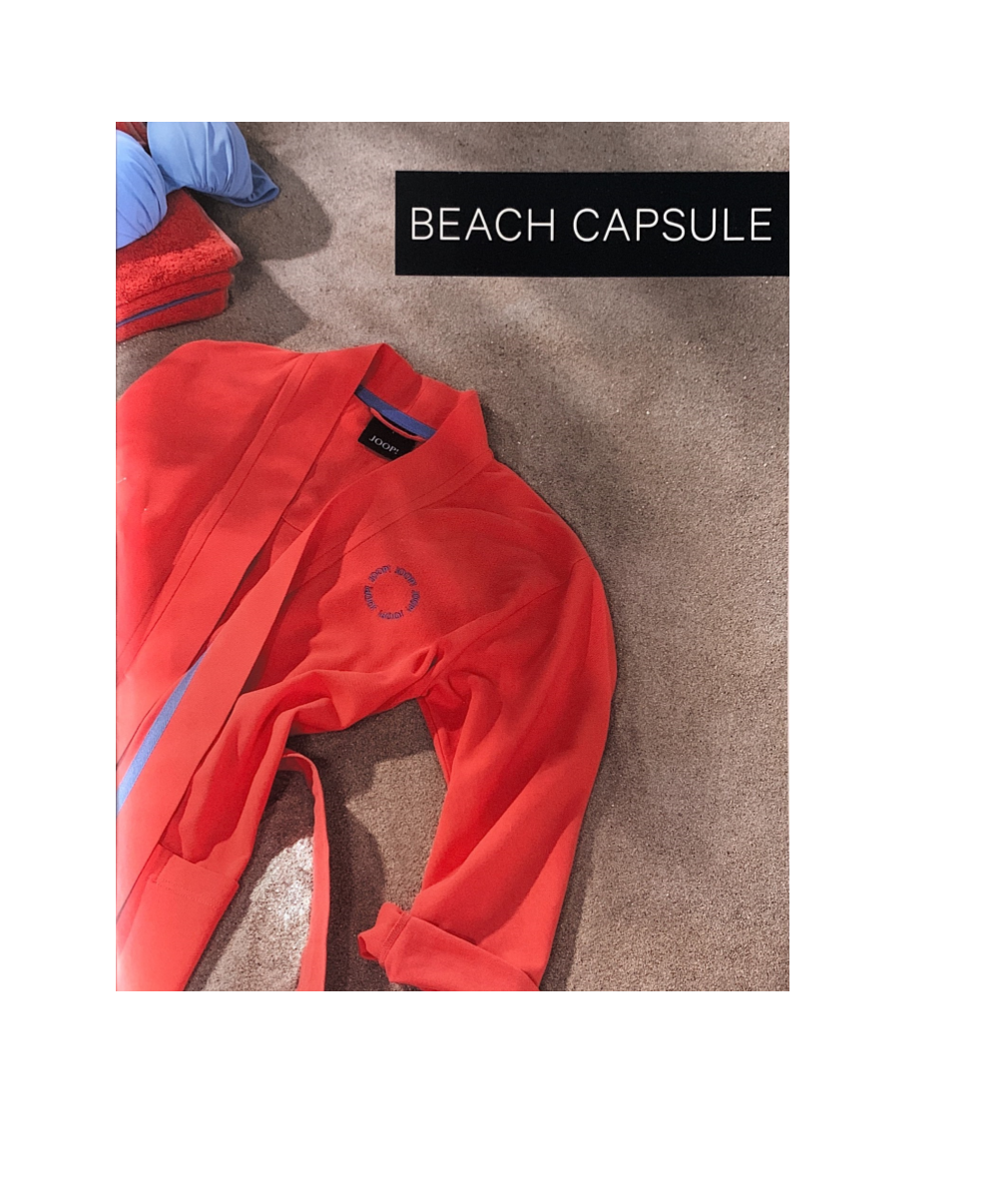 JOOP! Beach Capsule Damen Kimono leichter Bademantel Kollektion 2020
