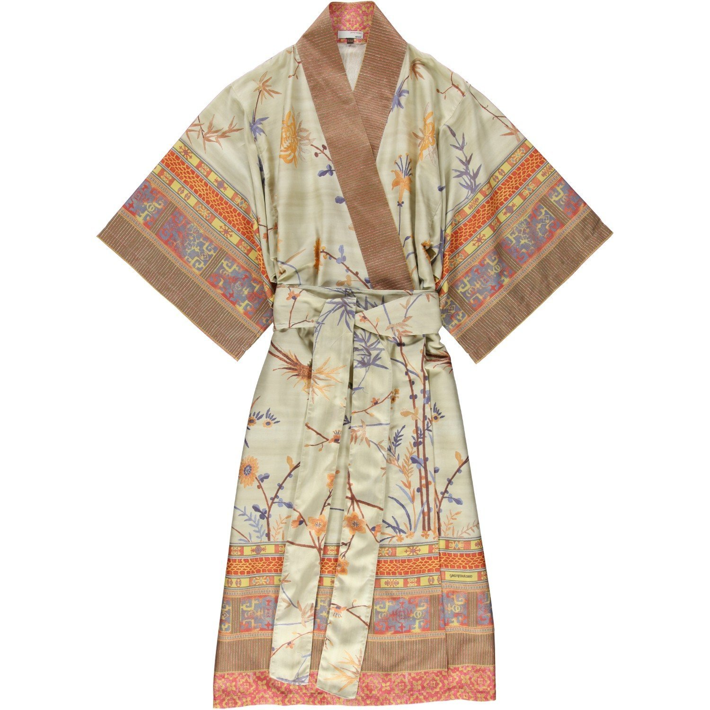 bassetti Kimono Fong V2-v.4M Größe S-M Druck mit beständigen Farben