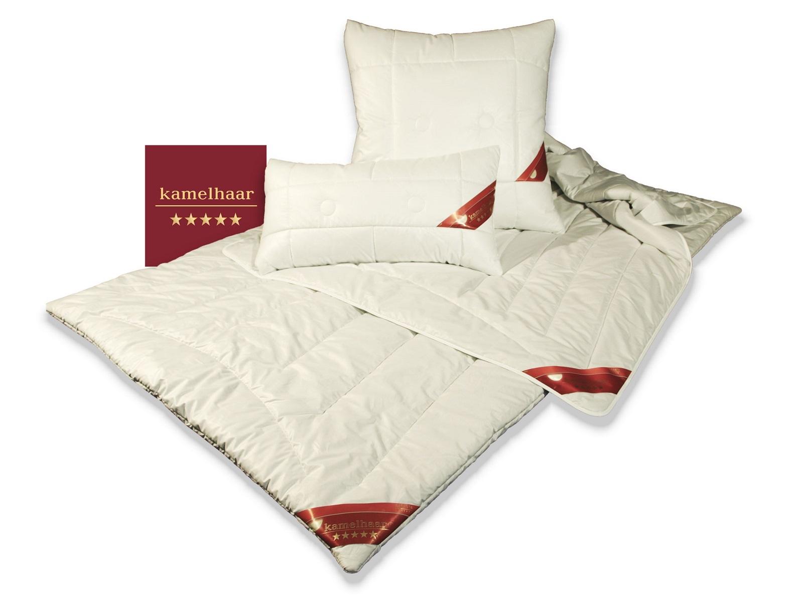 Garanta Kamelhaar extra-Leichtbett Sommedecke 100% Natur 155x220 cm