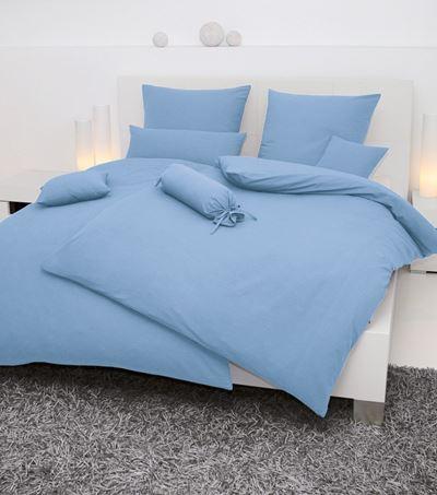 Janine Bettwäsche Mako-Soft-Seersucker bügelfrei weich atmungsaktiv 200x220 22 bleu