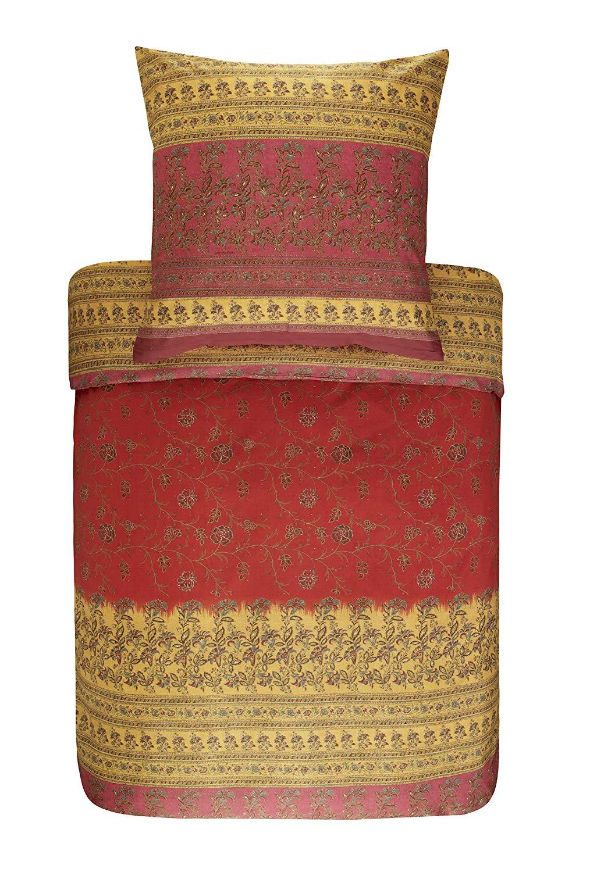 bassetti Granfoulard Bettwäsche Montefano Fuchsia Rot 135x200 cm Kollektionswechsel Sale