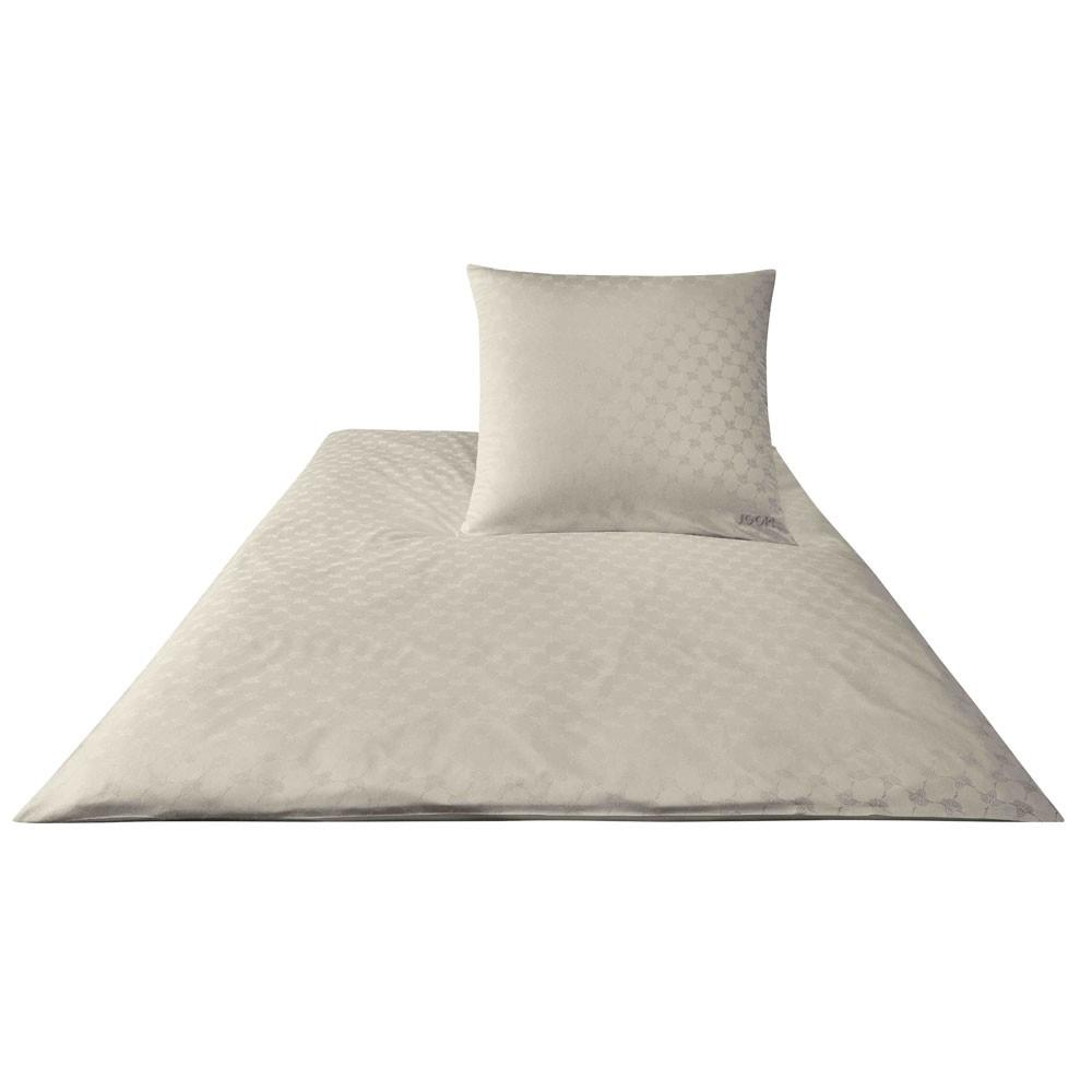 JOOP! Bettwäsche Cornflower 4020-17 Sand 155x220 cm Jacquard 100% Baumwolle