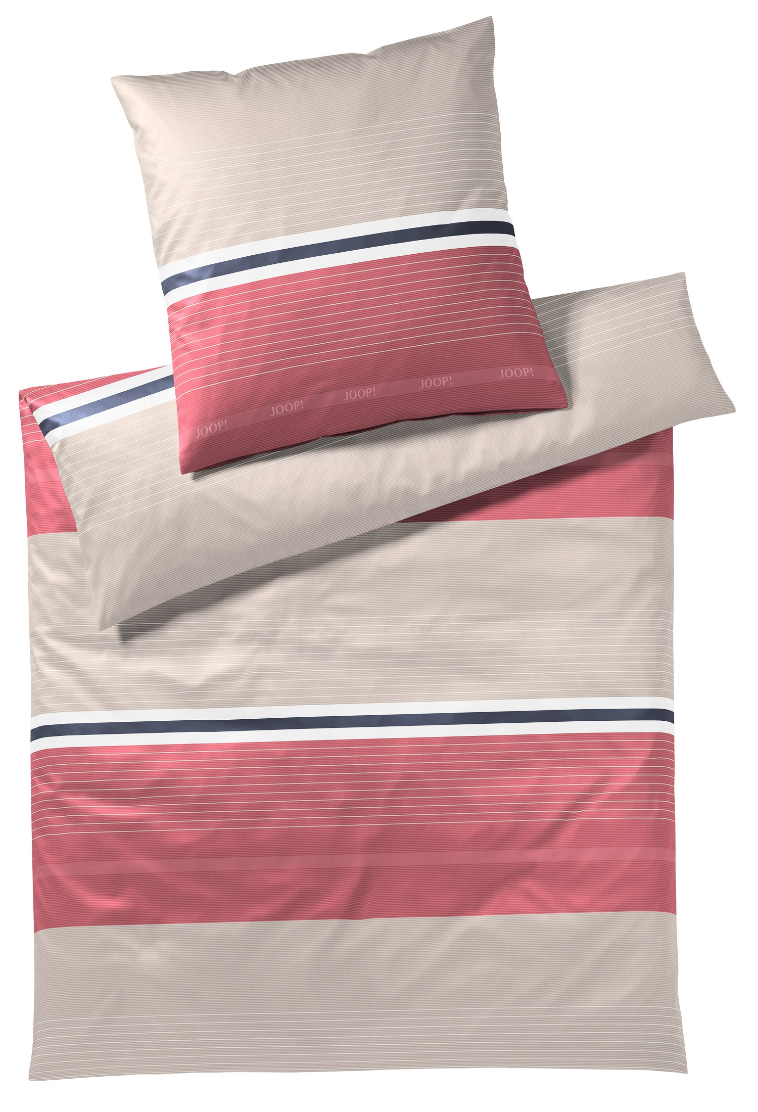 JOOP! Bettwäsche Fit 4091-01 Coral 155x220 cm Kollektion 2020
