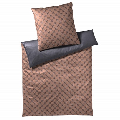 JOOP! Bettwäsche Cornflower Double 4083-07 Festive Copper 200x220 cm