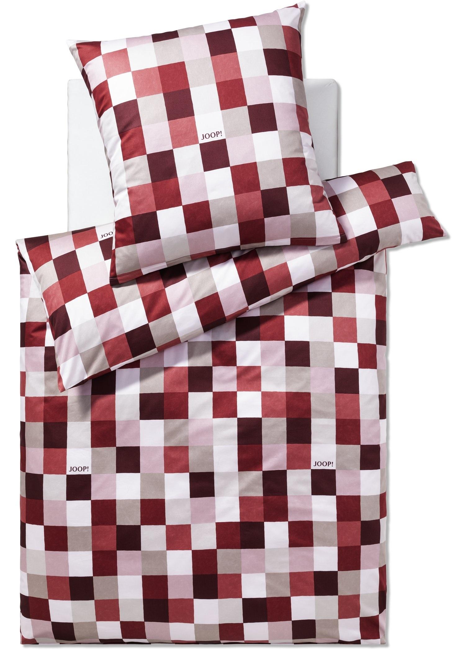 JOOP! Bettwäsche Mosaic 4092-01 Ruby 155x220 cm Kollektion 2020