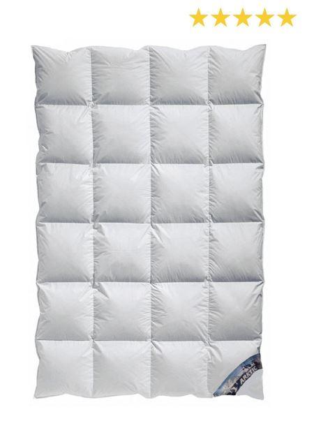Kassetten Daunendecke Winterdecke extra-warm 100% arktischer Daunenflaum A5