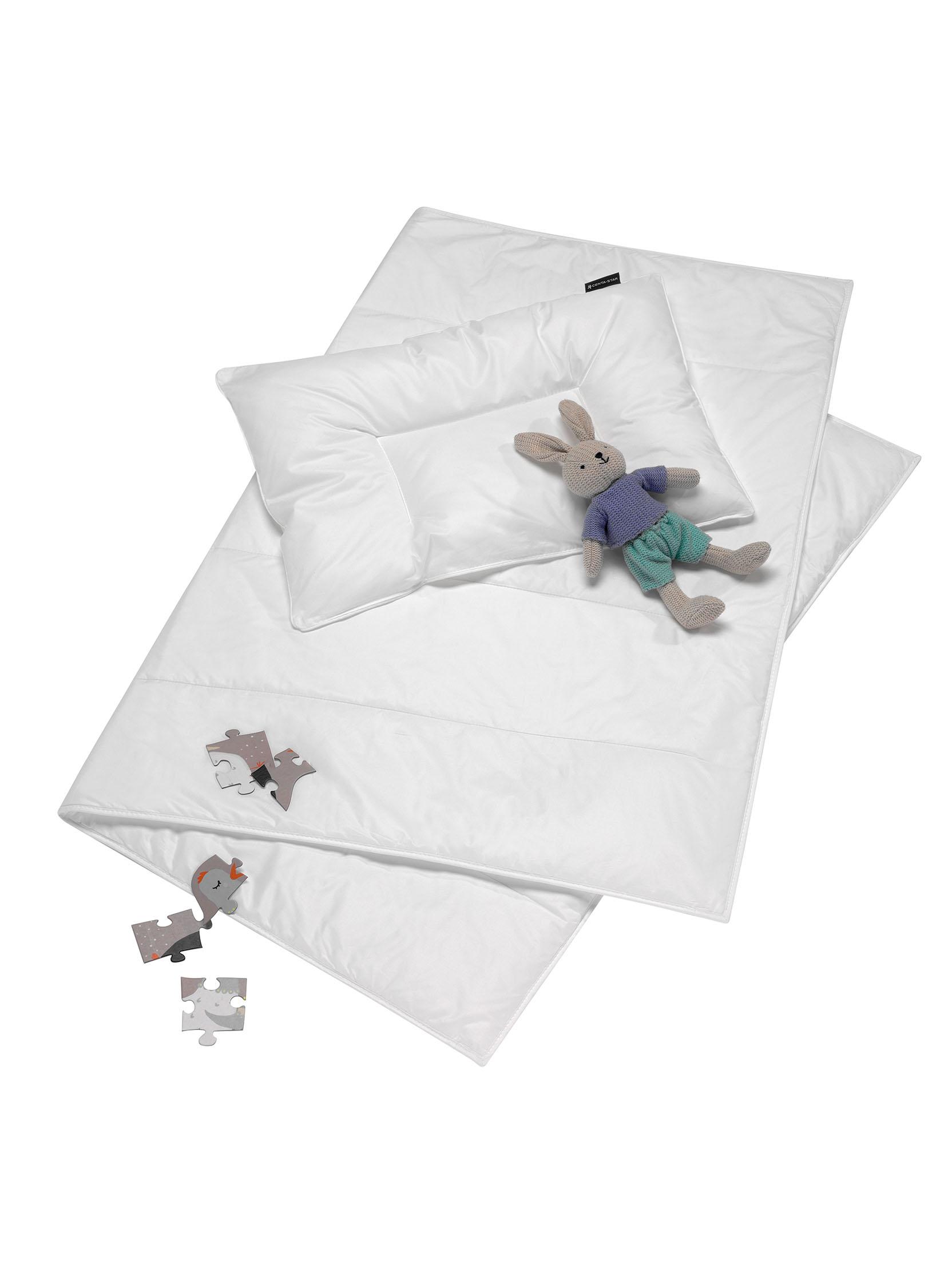 Centa-Star Kinder Set Aqua-Aktiv 100x135 cm und Flachkissen 40x60 cm
