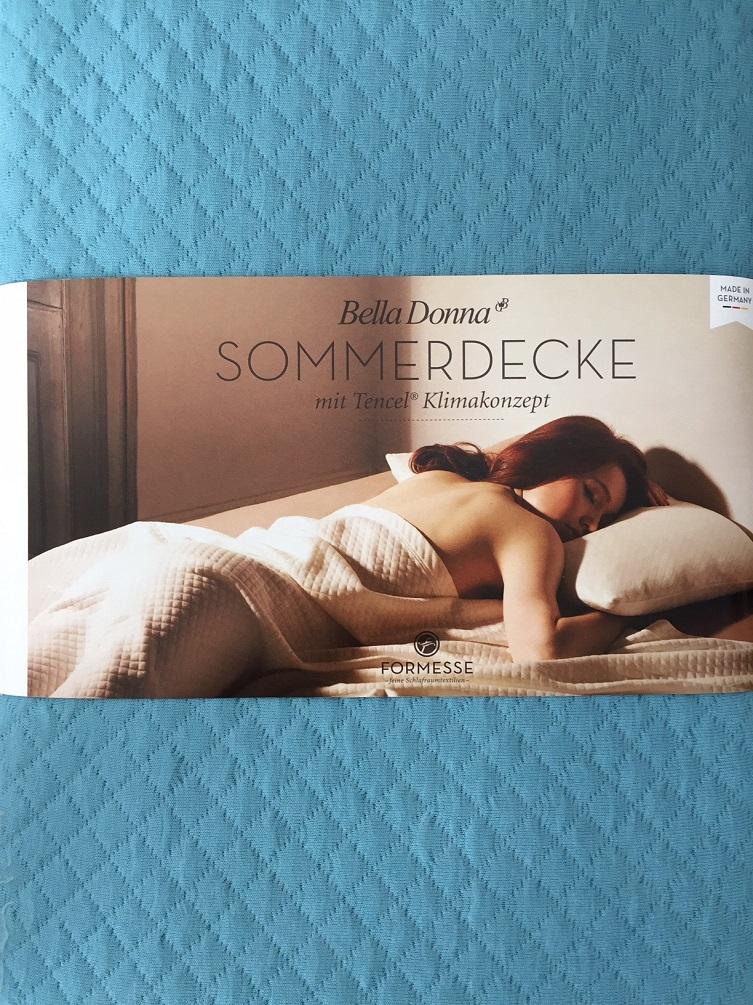 Bella Donna Sommerdecke 150x220 cm Tencel 0302 Arktis extra leicht