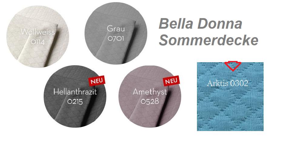Bella Donna Sommerdecke 150x220 cm Tencel die perfekte Sommerdecke