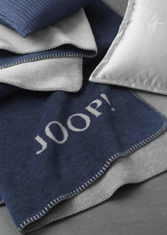 JOOP! Melange Doubleface Wohn- Kuscheldecke 150x200 softig weich  NEU