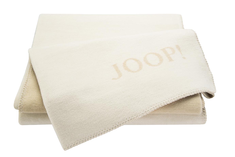 joop uni doubleface wohndecke decke pergament linum neu. Black Bedroom Furniture Sets. Home Design Ideas