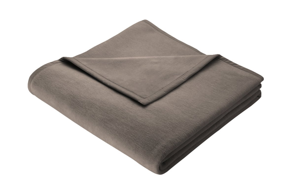 wohndecke warme kuscheldecke sofadecke cotton home braun 150x200 biederlack neu ebay. Black Bedroom Furniture Sets. Home Design Ideas