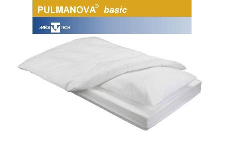 Pulmanova basic Encasing Milbenschutz 3tlg Set Kissen- Decken- Matratzenbezug
