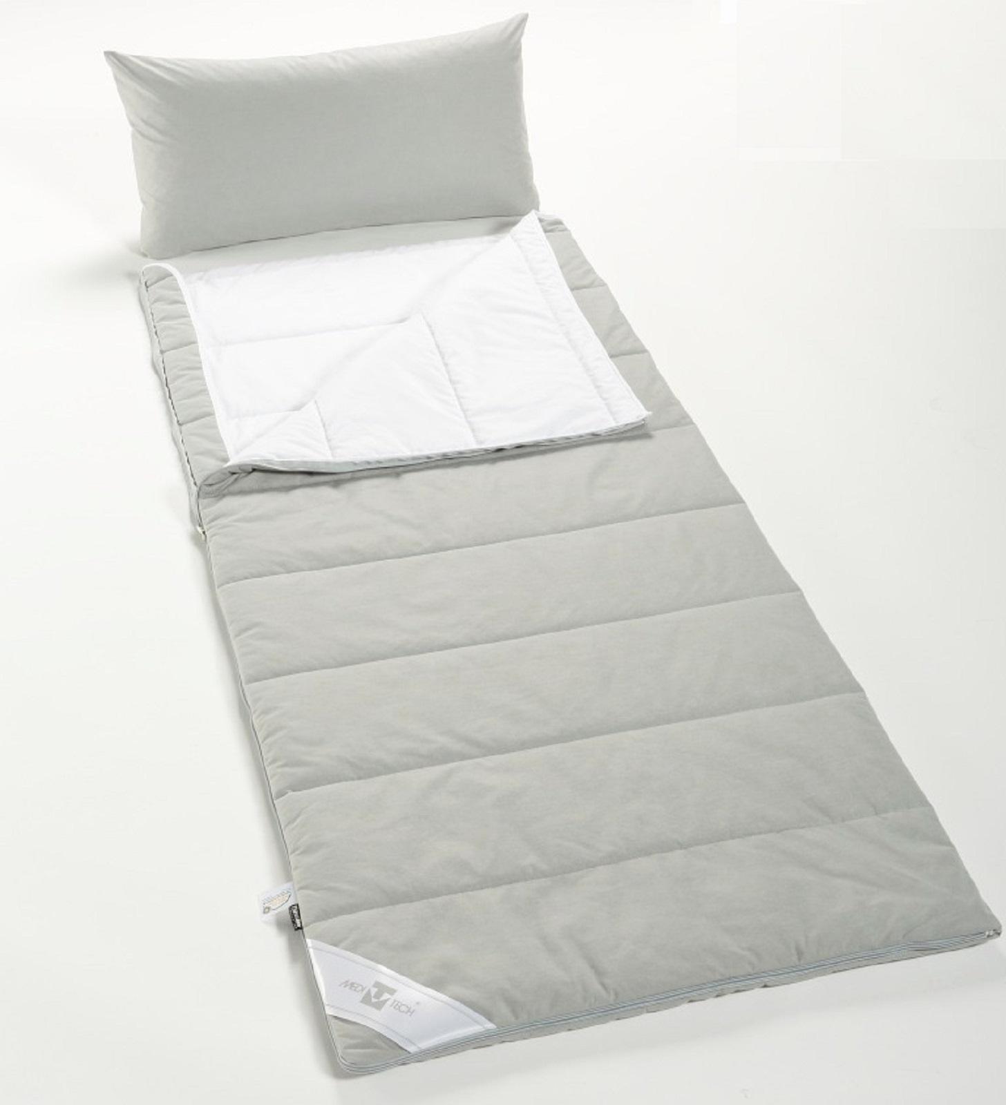Pulmanova Anti Allergie Encasing Schlafsack mit GRATIS Kissenbezug 40x80 cm