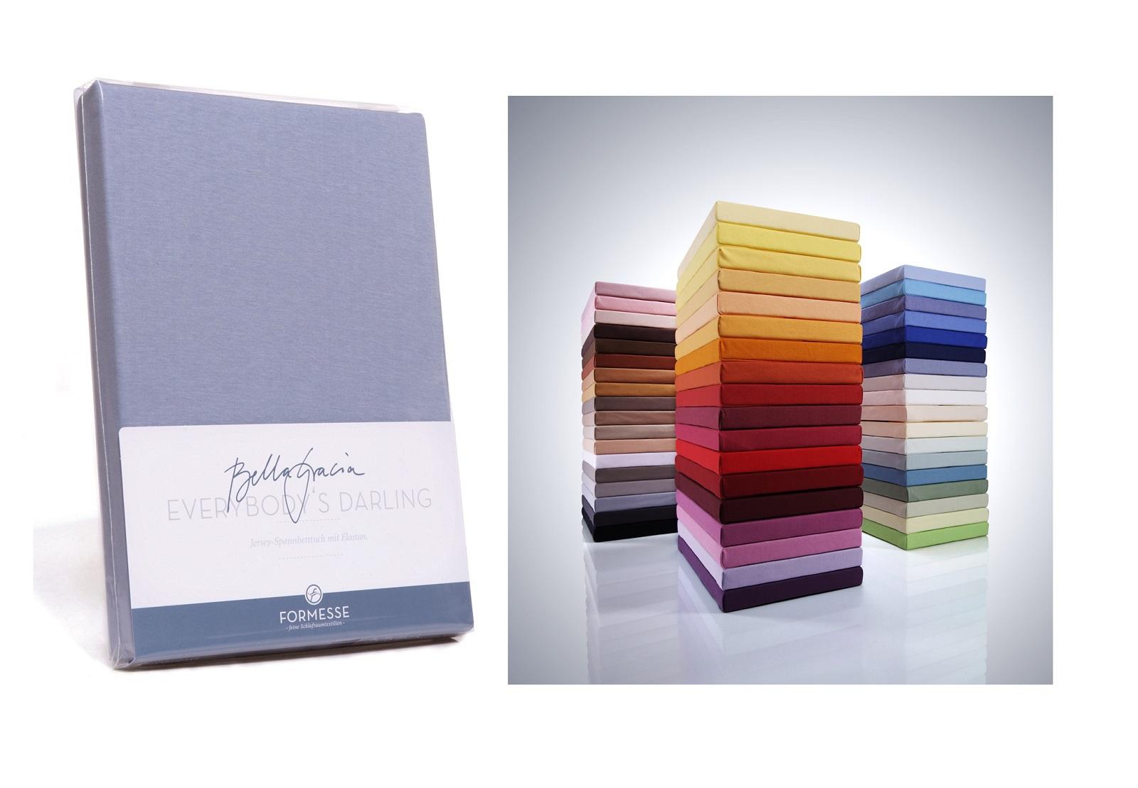 formesse bella gracia spannbetttuch luxus f r alle 180 200 x 200 220 cm ebay. Black Bedroom Furniture Sets. Home Design Ideas