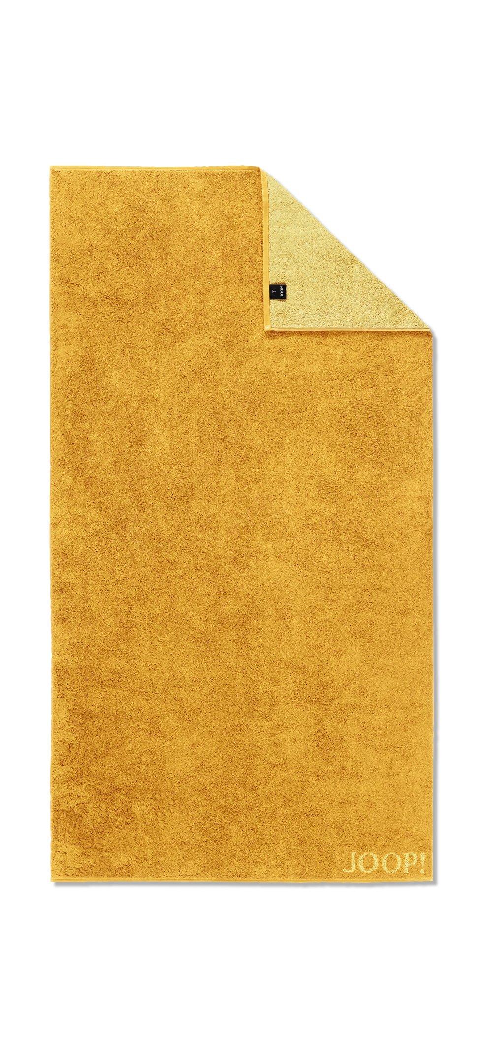 JOOP! Classic Doubleface Duschtuch 80x150 cm 1600-50 Honig Kollektion 2020