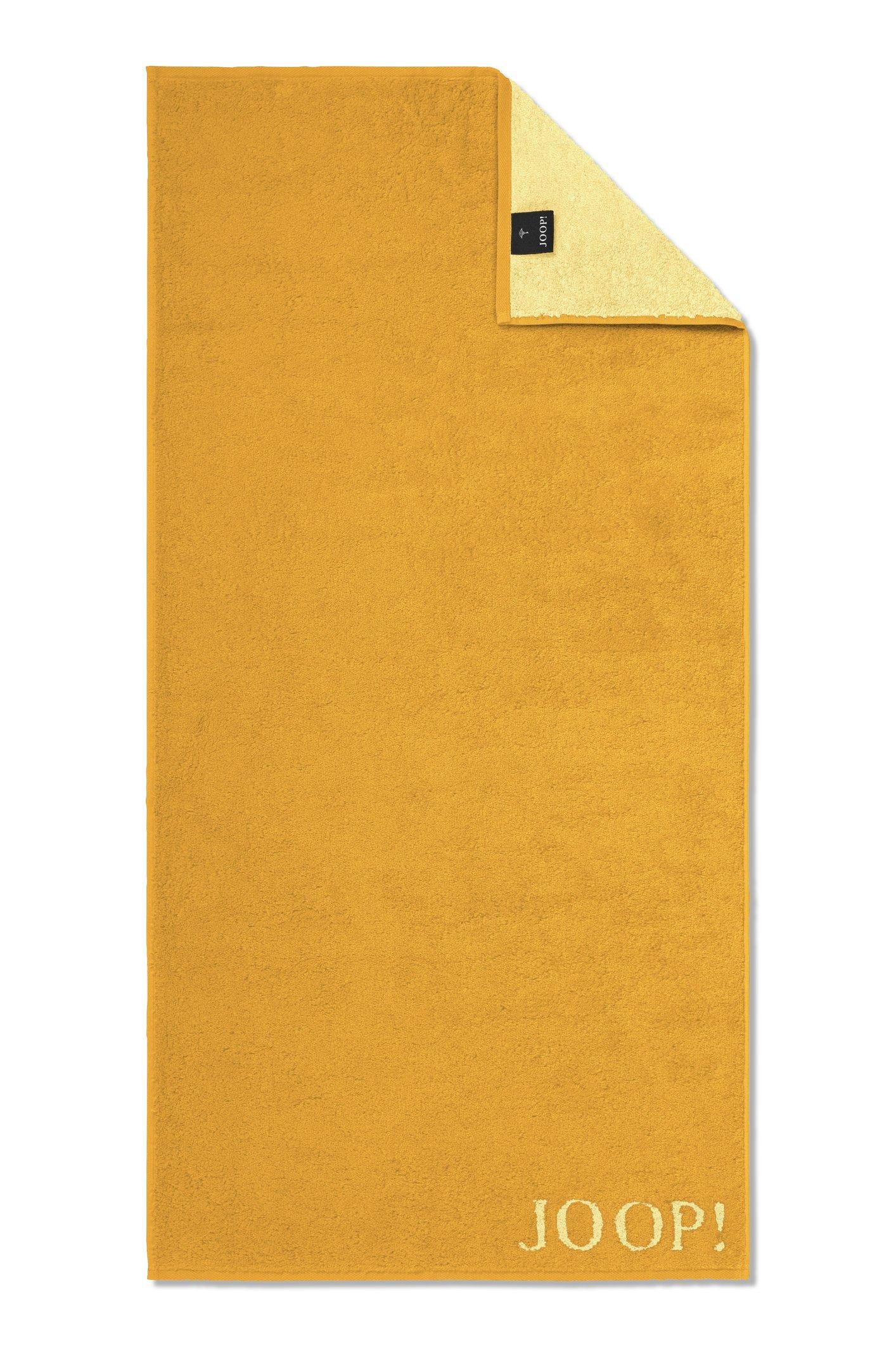 JOOP! Classic Doubleface Handtuch 50x100 cm 1600-50 Honig Kollektion 2020