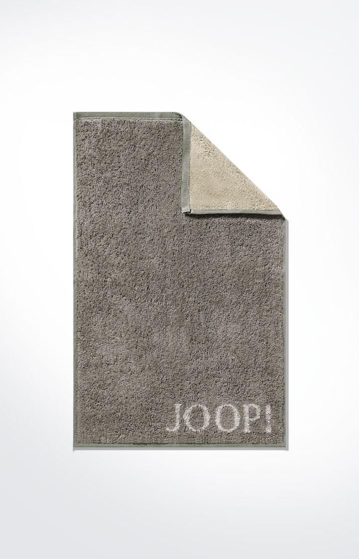 JOOP! Classic Doubleface Gästetuch 30x50 cm 1600-70 Graphit