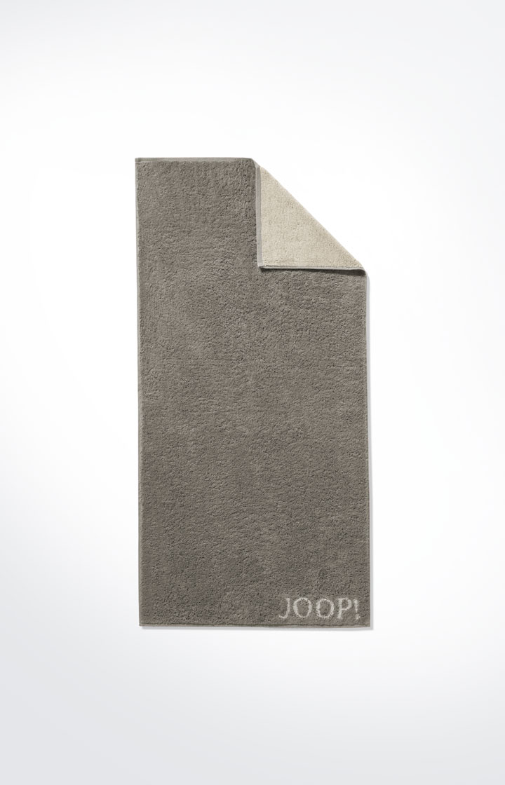 JOOP! Frottierkollektion Classic Doubleface Handtuch 1600-70 Graphit