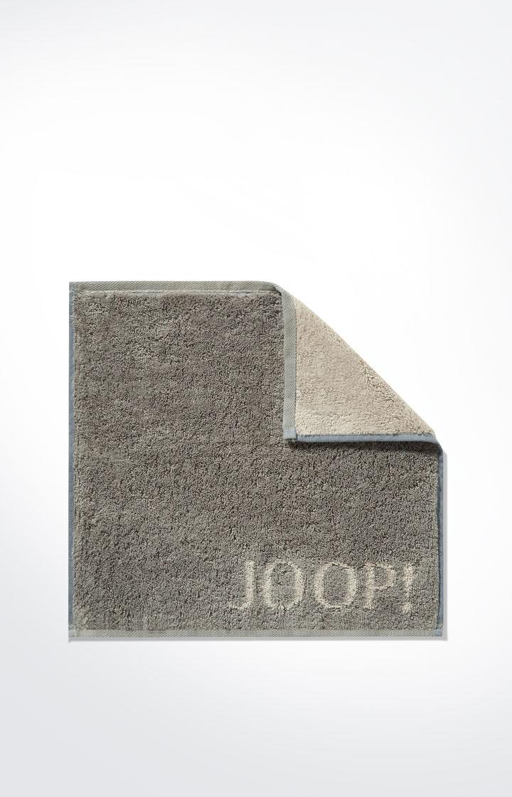 JOOP! Frottierkollektion Classic Doubleface Seifenlappen 1600-70 Graphit