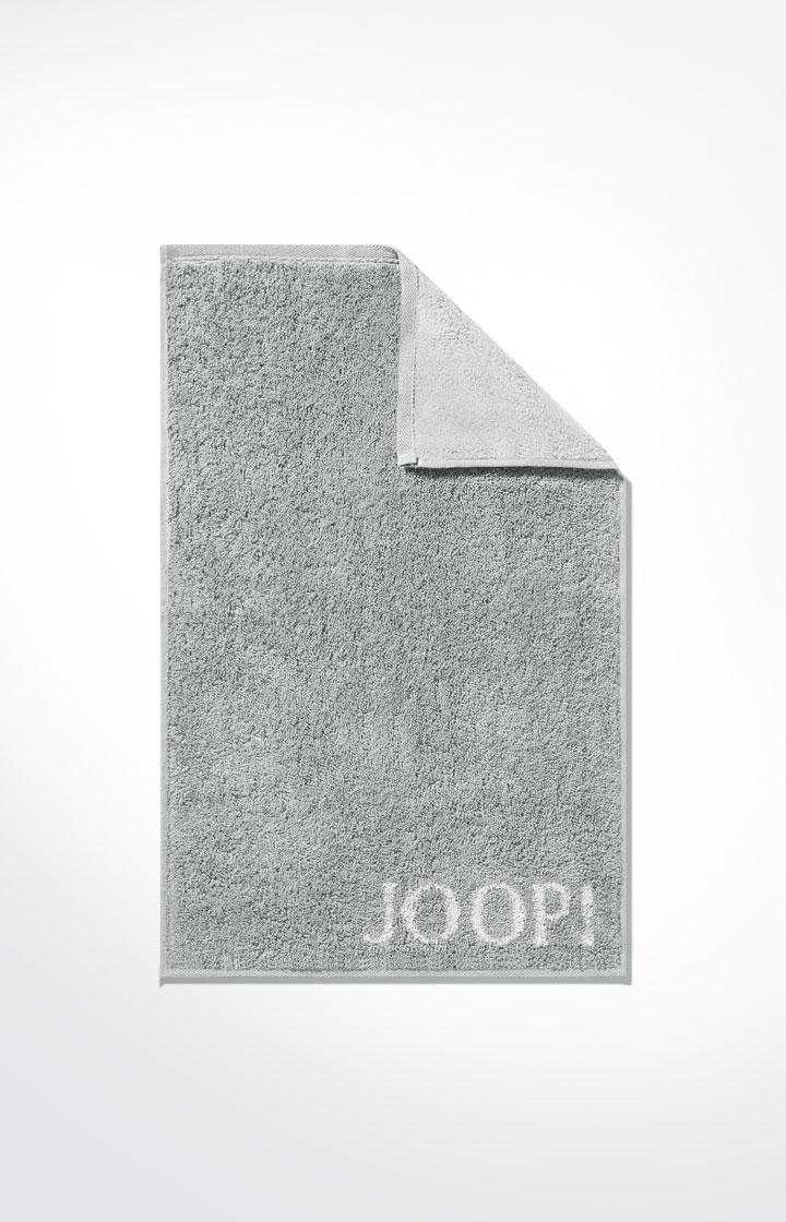 JOOP! Frottierkollektion Classic Doubleface Gästetuch 1600-76 Silber
