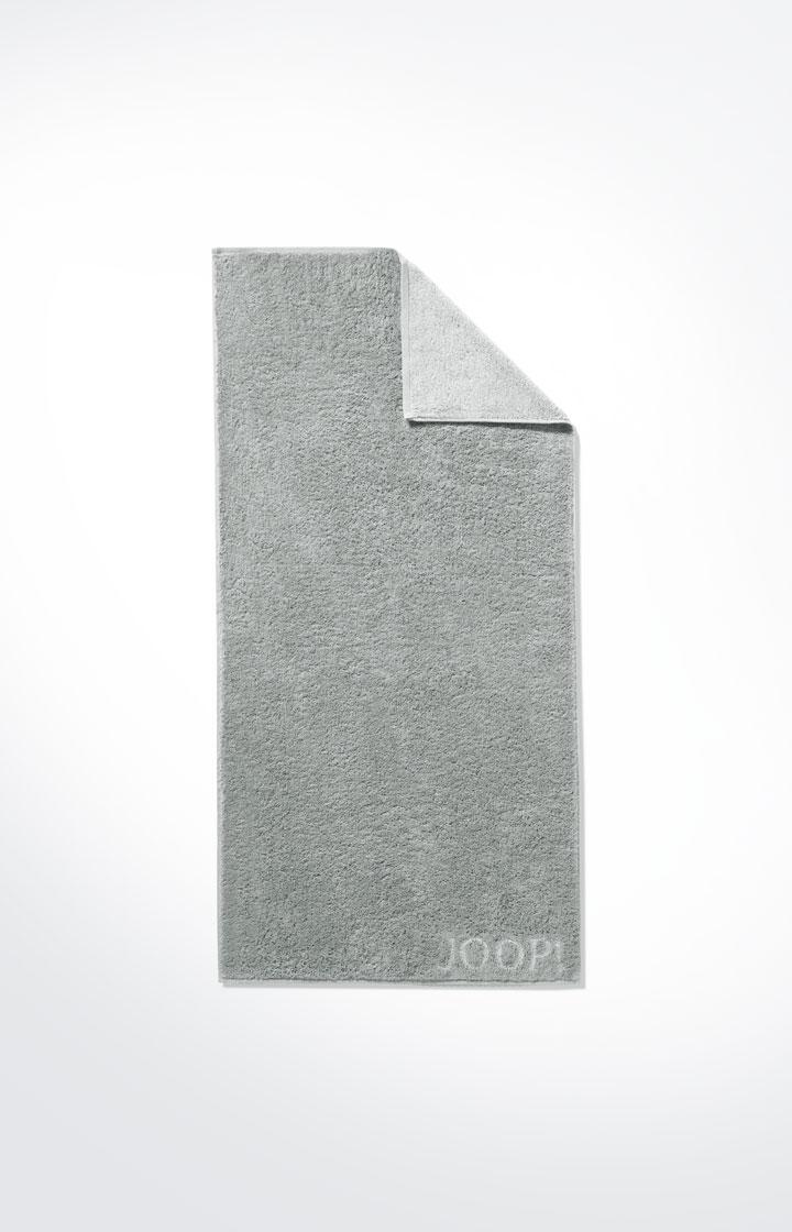 JOOP! Frottierkollektion Classic Doubleface Duschtuch 1600-76 Silber