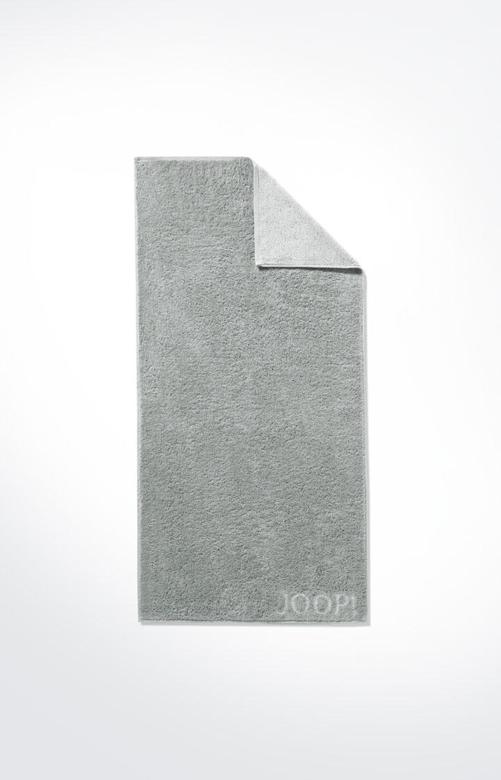 JOOP! Classic Doubleface Saunatuch 80x200 cm 1600-76 Silber neu ohne Etikett