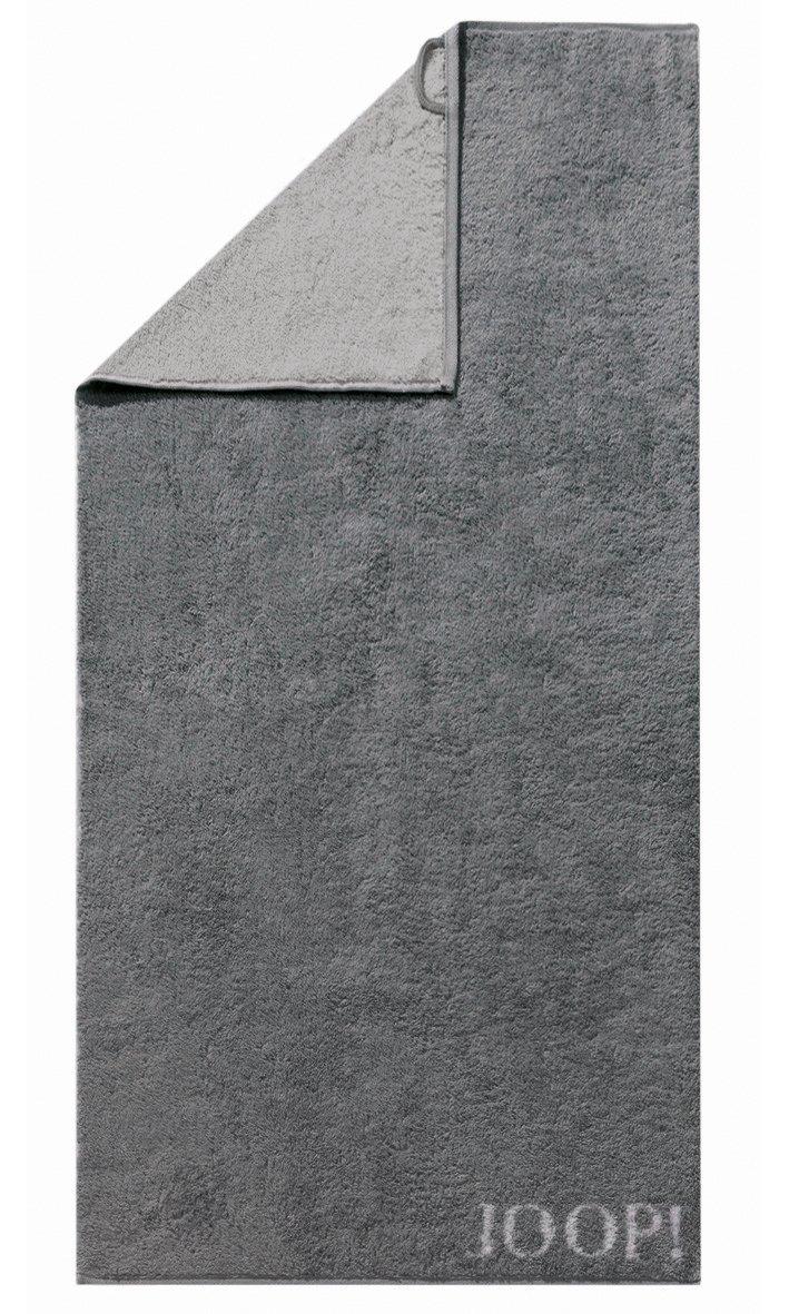 JOOP! Classic Doubleface Duschtuch 80x150 cm 1600-77 Anthrazit