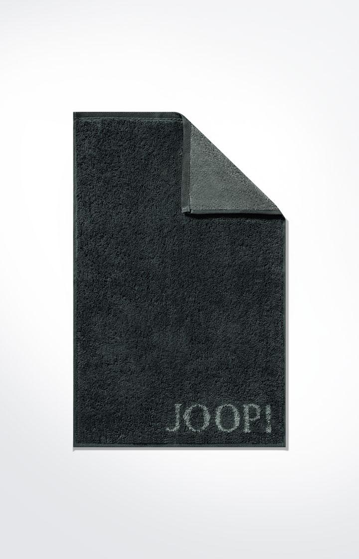 JOOP! Frottierkollektion Classic Doubleface Gästetuch 1600-97 Schwarz