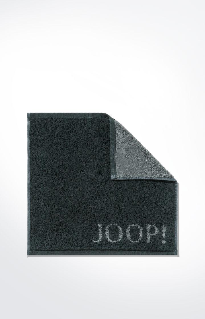 JOOP! Frottierkollektion Classic Doubleface Seifenlappen 1600-97 Schwarz