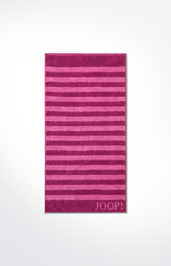 JOOP! Classic Stripes Handtuch 1610-22 Cassis
