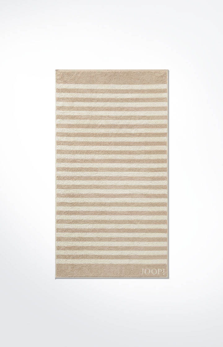 JOOP! Classic Stripes Handtuch 1610-30 Sand