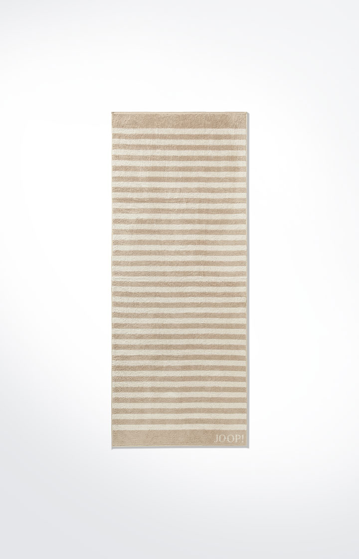 JOOP! Classic Stripes Saunatuch 80x200 cm 1610-30 Sand