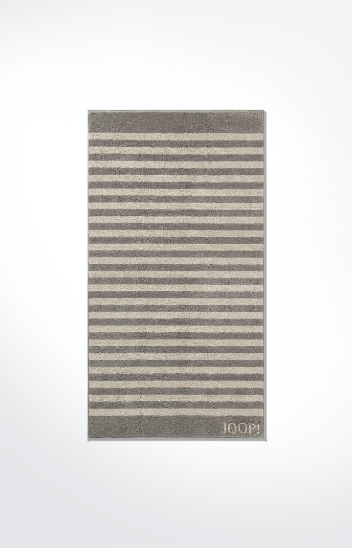 JOOP! Classic Stripes Duschtuch 1610-70 Graphit