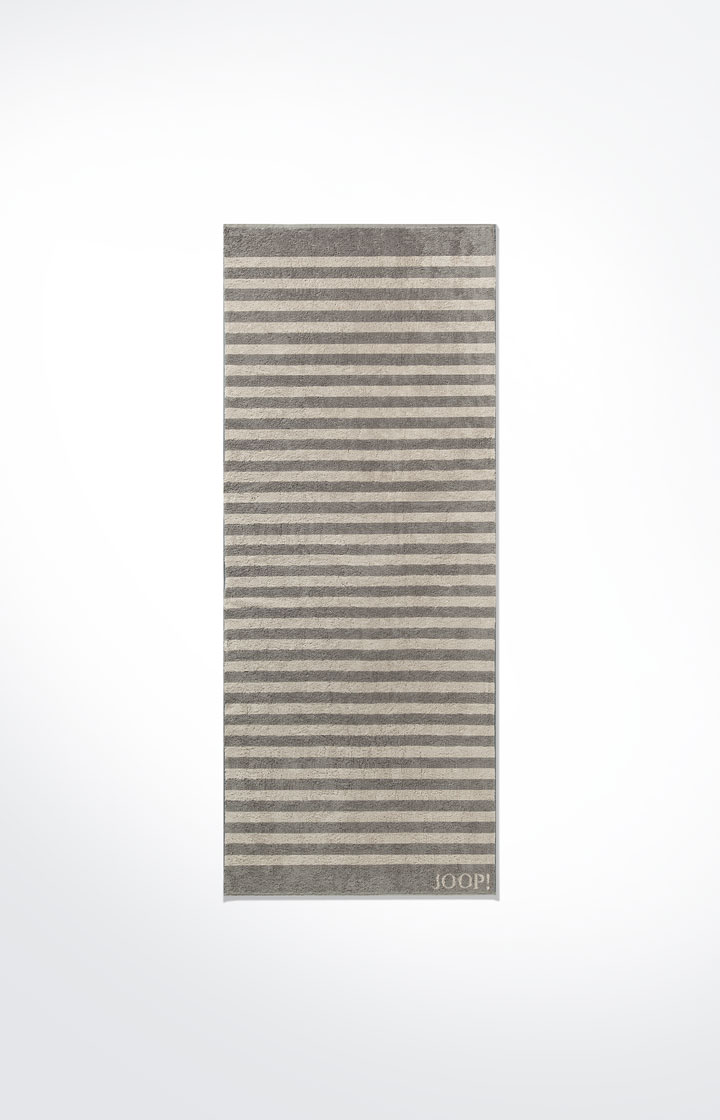 JOOP! Classic Stripes Saunatuch80x200 cm  1610-70 Graphit