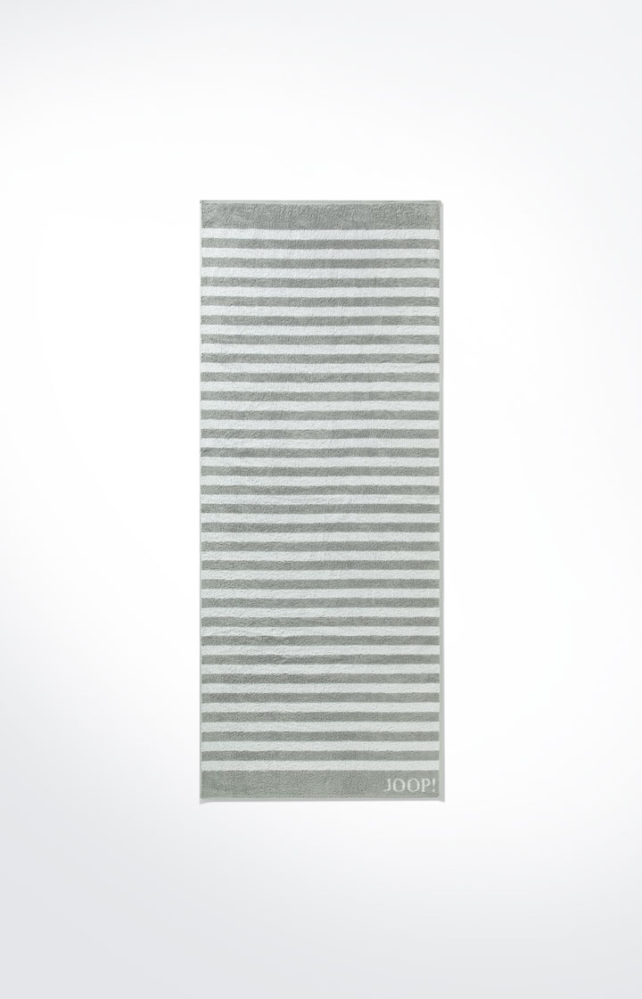 JOOP! Classic Stripes Saunatuch 80x200 cm 1610-76 Silber