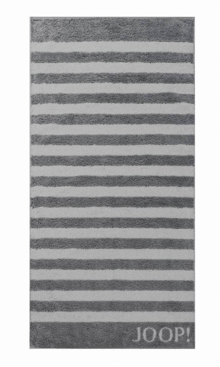 JOOP! Classic Stripes Saunatuch 80x200 cm 1610-77 Anthrazit