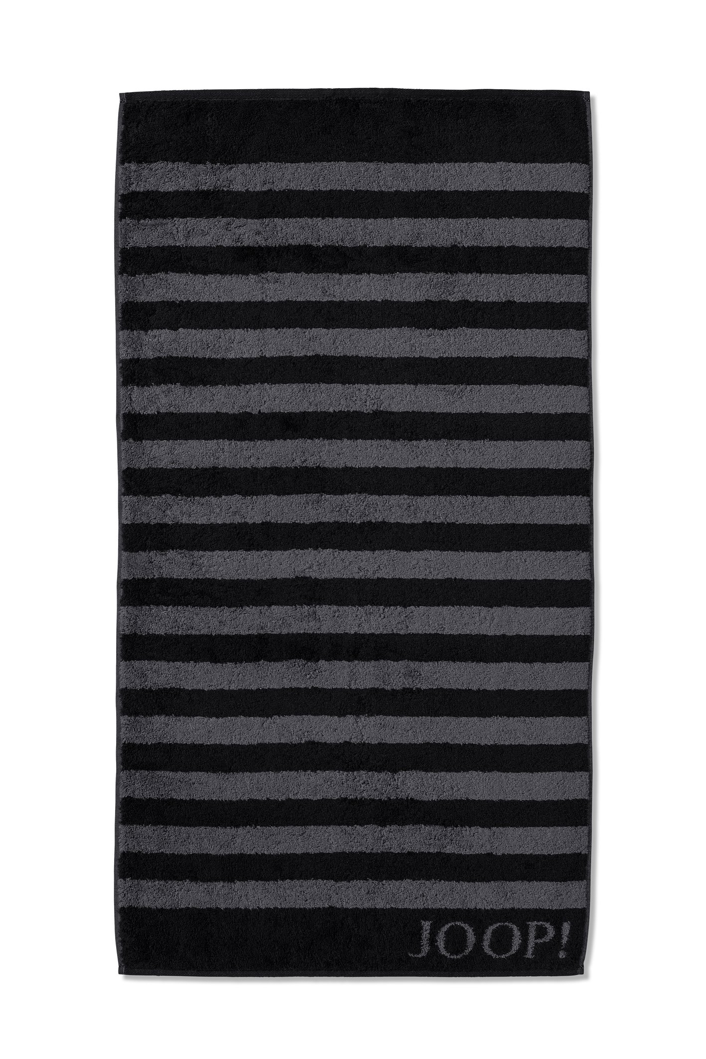 JOOP! Classic Stripes Duschtuch 80x150 cm 1610-90 Schwarz