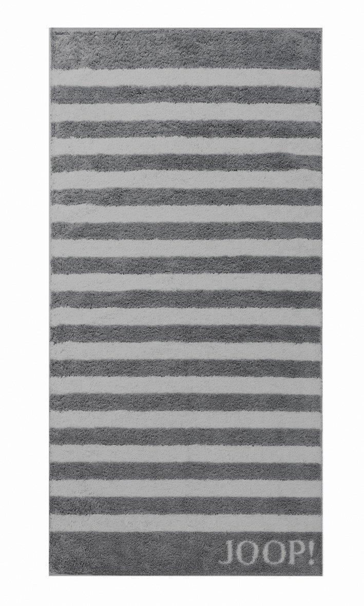 JOOP! Frottierkollektion Classic STRIPES Streifen Saunatuch 1610-77 Anthrazit