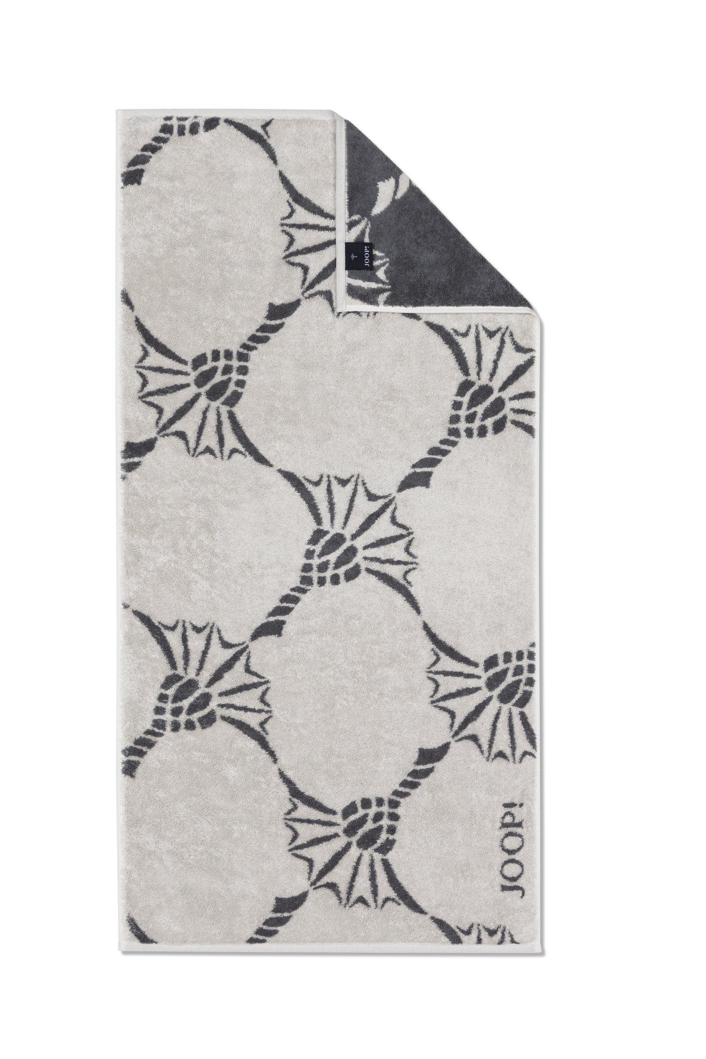 JOOP! Frottierkollektion Infinity Cornflower Zoom 1677-37 Sand Duschtuch 80x150 cm
