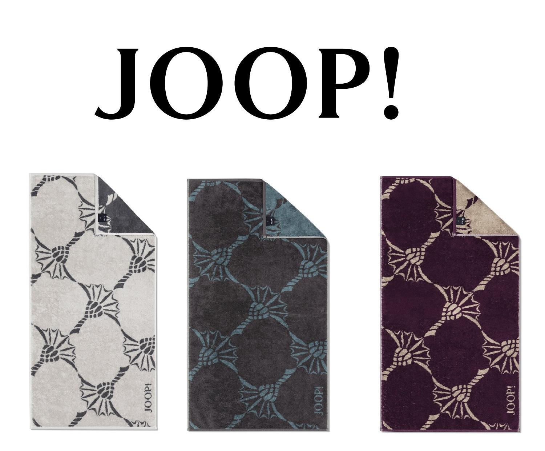 JOOP! Frottierkollektion Infinity Cornflower Zoom 1677 extraflauschige Qualität 100% Baumwolle
