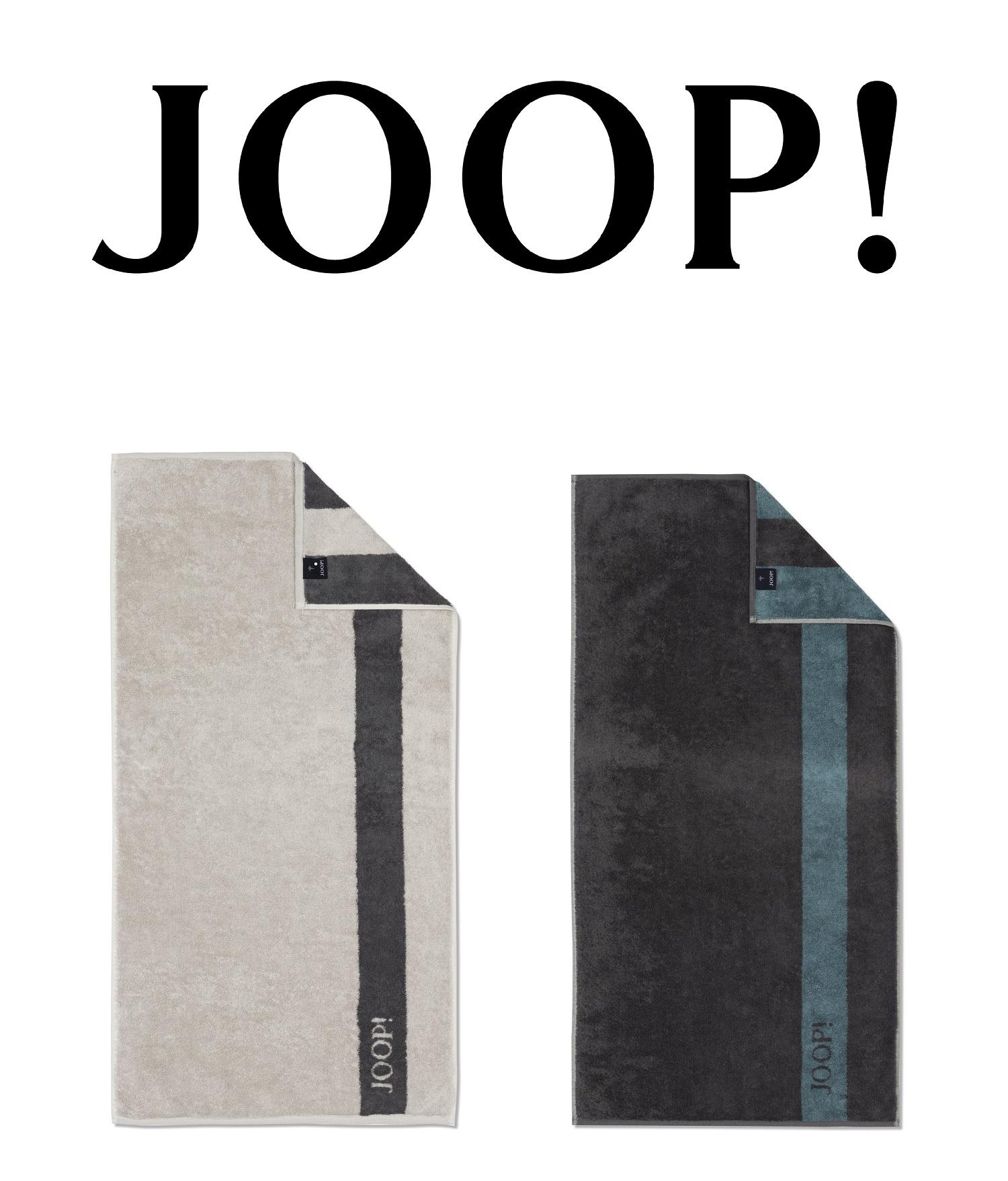 JOOP! Frottierkollektion Infinity Doubleface 1678 extraflauschige Qualität 100% Baumwolle