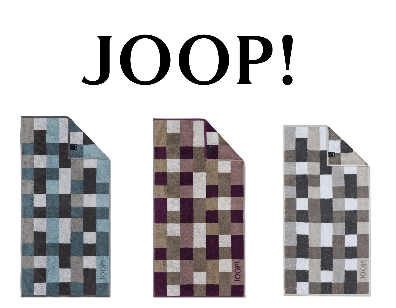 JOOP! Frottierkollektion Mosaic 1679 extraflauschige Qualität 100% Baumwolle