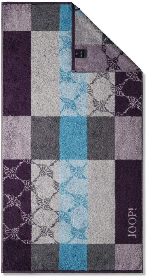 JOOP! Statement 1671 Checked 88 Plum Handtuch 50x100 cm