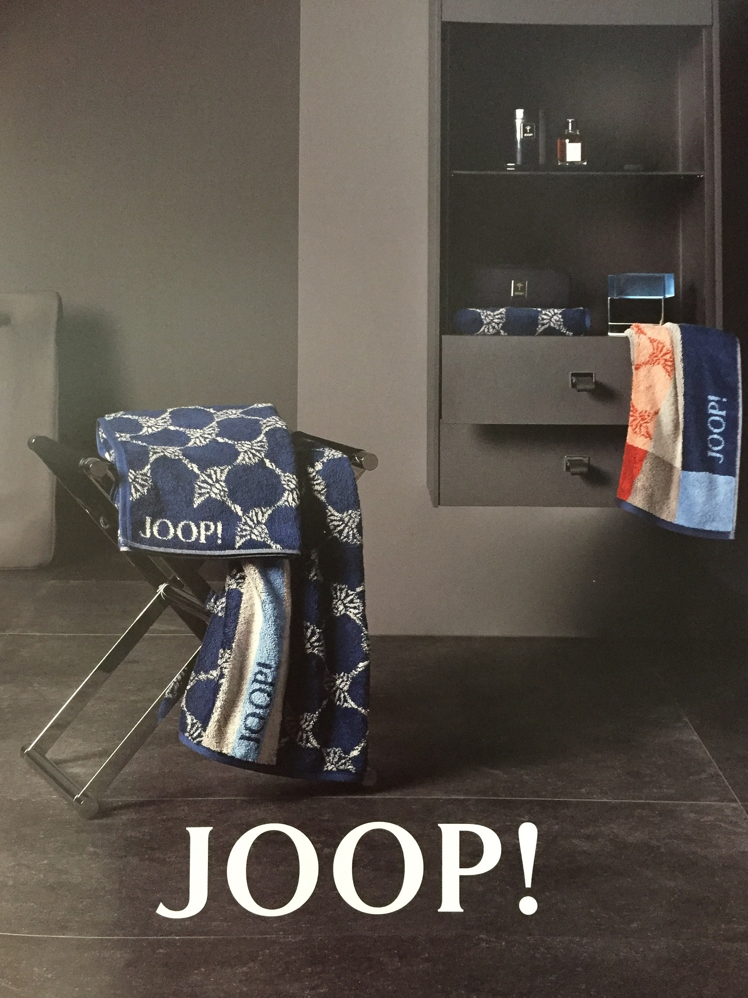 JOOP! Frottierkollektion Statement 1671 Checked Neuheiten Herbst/Winter 2019/20