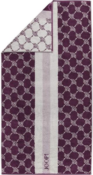 JOOP! Statement 1673 Divided 88 Plum Handtuch 50x100 cm Sale